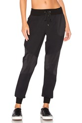 Beyond Yoga Picture Perforated Sweatpant Black