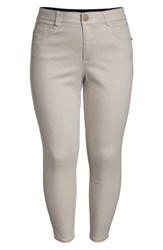 Wit And Wisdom Ab Solution Crop Skinny Pants Flax