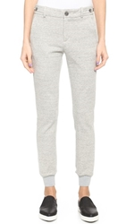 Vince Heather Jogger Pants Heather Grey
