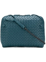 Bottega Veneta Nodini Crossbody Bag Blue