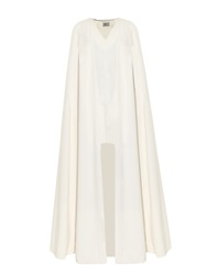 La Mania Toga Long Crepe Cape
