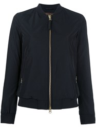 Woolrich Classic Bomber Jacket Blue