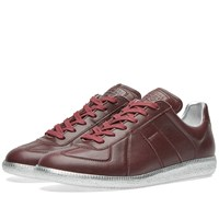 Maison Martin Margiela 22 Replica Low Platinum Sole Sneaker Burgundy