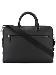 Michael Michael Kors Zipped Messenger Bag Black