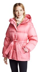 Perfect Moment Oversized Parka Peach Pink Nordic Green