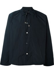 Craig Green Snap Button Front Overshirt Blue