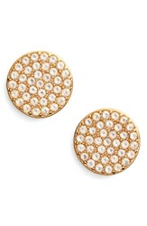 Kate Spade Women's New York Shine On Stud Earrings Gold Clear
