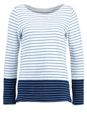 Gap Long Sleeved Top White Blue