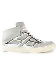 Alejandro Ingelmo 'Tron' Hi Top Sneakers Grey