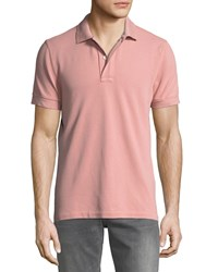 Tom Ford Pique Knit Polo Shirt Pink