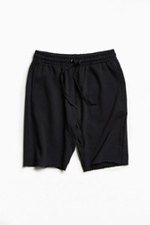 Urban Outfitters Uo Raw Hem Knit Short Black