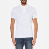 Barbour Men's Sports Polo Shirt White