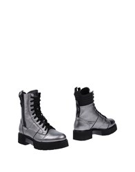 O.X.S. Ankle Boots Grey