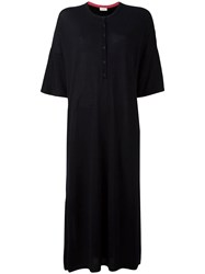 Chinti And Parker Button Jersey Dress Black