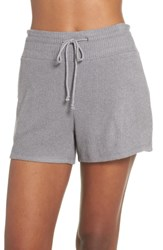 Joe's Jeans Relaxed Fit Sleep Shorts Heather Gray