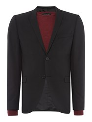 Selected Mylo Logan Plain Weave Suit Jacket Black