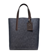 Michael Kors Mens Mason Reversible Denim Tote