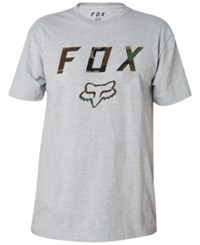 Fox Men's Graphic Cyanide Squad T Shirt Light Heather Grey