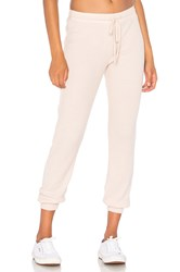 Nation Ltd. Malibu Lounge Sweatpants Pink