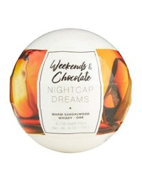 Weekends And Chocolate Large Bath Fizzy Nightcap Dreams 8 Oz 226 G