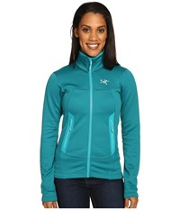 Arc'teryx Arenite Hoodie Niagara Women's Sweatshirt Blue