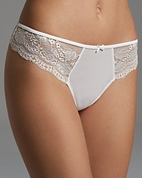 Blush Lingerie Thong True Bliss 228722 White