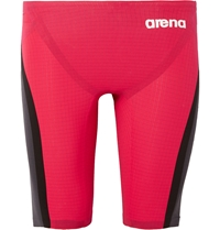 Arena Powerskin Carbon Flex Compression Swimming Jammers Red