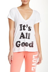 Rebel Yell It's All Good Classic Tee White