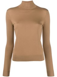 Theory Plain Fitted Jumper Neutrals