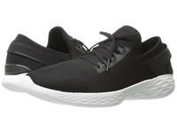 Skechers Performance You Inspire Black White Shoes