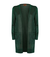 Missoni Lurex Cardigan Female Green