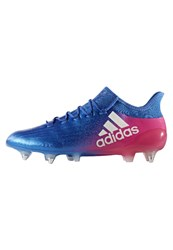 Adidas Performance X 16.1 Sg Football Boots Blue White Shock Pink