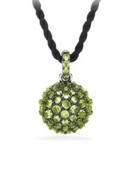 David Yurman Osetra Pendant Necklace With Peridot