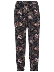 French Connection Adeline Dream Drape Joggers Olive Multi