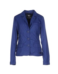 313 Tre Uno Tre Coats And Jackets Jackets Women Blue