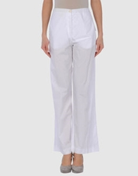 Angelos Frentzos Casual Pants White