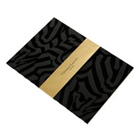 Christian Lacroix Riviera Flocked Notebook A5
