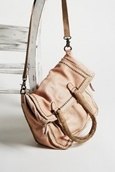 Free People Womens Faye Distressed Tote