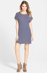 Element 'Rosa' Stripe T Shirt Dress Navy