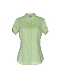 Henry Cotton's Shirts Shirts Women Light Green