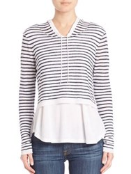 Generation Love Lindsay Striped Hoodie