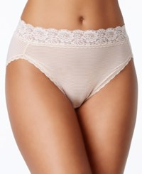 Vanity Fair Body Caress Ultimate Comfort High Cut Brief 13280 Rose Beige
