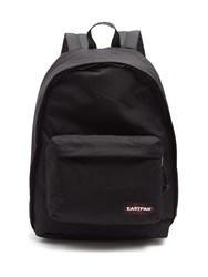 Eastpak Out Of Office Canvas Backpack Black