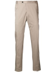 Tonello Tailored Style Trousers Neutrals
