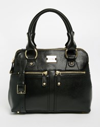 Modalu Leather Pippa Grab Bag Black