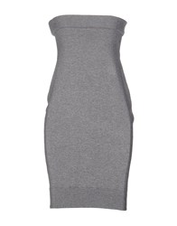 Eleven Paris Short Dresses Grey