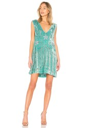 Spell And The Gypsy Collective Elsa Sequin Dress Sage