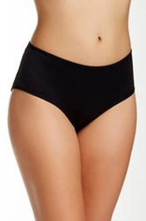 Joan Vass Molded Padded Brief Plus Size Available Black