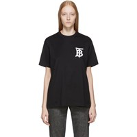 Burberry Ssense Exclusive Black Tb T Shirt