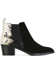 Jean Michel Cazabat 'Zilly' Ankle Boots Black
